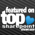 Featured on TopSharePoint.com