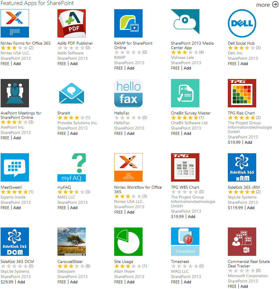 SharePoint App Store